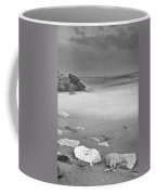 White Stone Coffee Mug