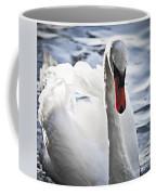 White Swan Coffee Mug by Elena Elisseeva