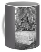 White Swing Black And White Coffee Mug