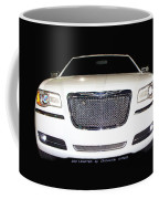 White  Three  Hundred  Limited  In  Black  Coffee Mug