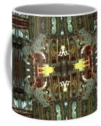 White Tiger Carousel 2 Coffee Mug