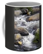 White Water Composition Coffee Mug