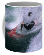 White Water Kayaker Coffee Mug