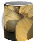 White Yellow Pumpkins Coffee Mug
