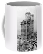 Whitehall Buildings At Battery Place Station In New York City - 1911 Coffee Mug