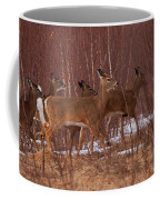 Whitetails On The Move Coffee Mug