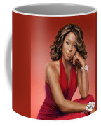 Whitney Houston Coffee Mug by Reggie Duffie