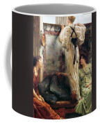 Who Is It Coffee Mug by Sir Lawrence Alma-Tadema