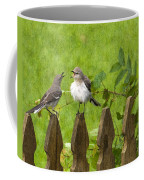 Who's Mocking Who Coffee Mug by Steven Richardson