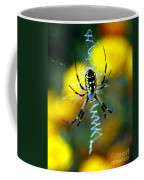 Wicked Spider Paint Coffee Mug