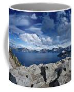 Wide View Of Crater Lake Coffee Mug