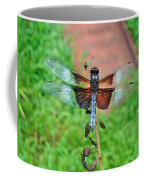 Widow Skimmer Dragonfly - Libellula Luctuosa Coffee Mug
