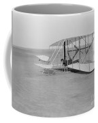 Wilbur Wright Crash Landing In Wright Coffee Mug