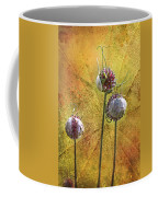 Wild Allium Ala Grunge Coffee Mug