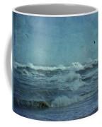Wild Blue - High Surf - Outer Banks Coffee Mug