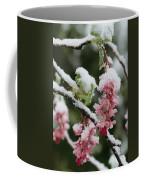 Wild Currant Blossoms Ribes Sanguineum Coffee Mug