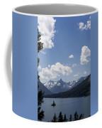 Wild Goose Island Floats In St Mary Lake Coffee Mug
