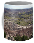 Wild Mountain Goat On Top Of The Badlands Coffee Mug