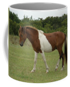Wild Pony On Assateague Island Maryland Coffee Mug