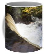 Wilderness Waterfall Autumn Stream Coffee Mug