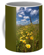 Wildflowers And Barbed Wire Coffee Mug