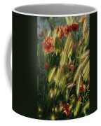 Wildflowers And Grass Tufts In Provence Coffee Mug