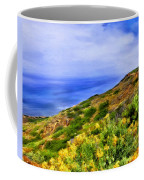 Wildflowers At Point Loma Coffee Mug