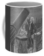 William And Caroline Herschel, German Coffee Mug