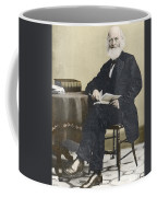 William Cullen Bryant, American Poet Coffee Mug by Science Source