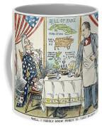 William Mckinley Cartoon Coffee Mug