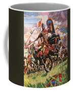 William The Conqueror At The Battle Of Hastings Coffee Mug