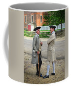 Williamsburg Colonists Coffee Mug