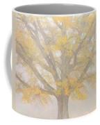 Willow Oak In Fog Coffee Mug by Bill Swindaman