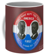 Wilson Campaign Button Coffee Mug
