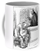 Wilson Cartoon, 1913 Coffee Mug