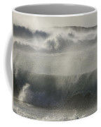 Wind Thrashes The Waves At Camps Bay Coffee Mug