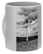 Wind Turbines Mono Coffee Mug