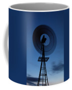 Windlill At Night Coffee Mug