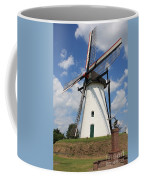 Windmill And Blue Sky Coffee Mug by Carol Groenen