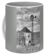 Windmill And Shack Coffee Mug