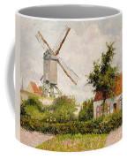 Windmill At Knokke Coffee Mug