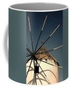 windmill Greece Coffee Mug by Joana Kruse