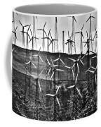Windmills By Tehachapi  Coffee Mug by Susanne Van Hulst