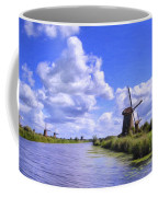 Windmills In Holland Coffee Mug