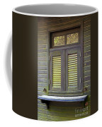 Window And Moss Coffee Mug by Carlos Caetano