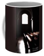 Window And Pews Coffee Mug