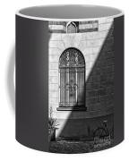 Window And Shadow On A Wall With Bike Coffee Mug