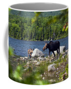 Window To The Moose Coffee Mug
