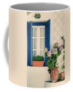 Window With Flowers Coffee Mug