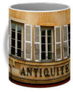Windows Of Antiquites Coffee Mug